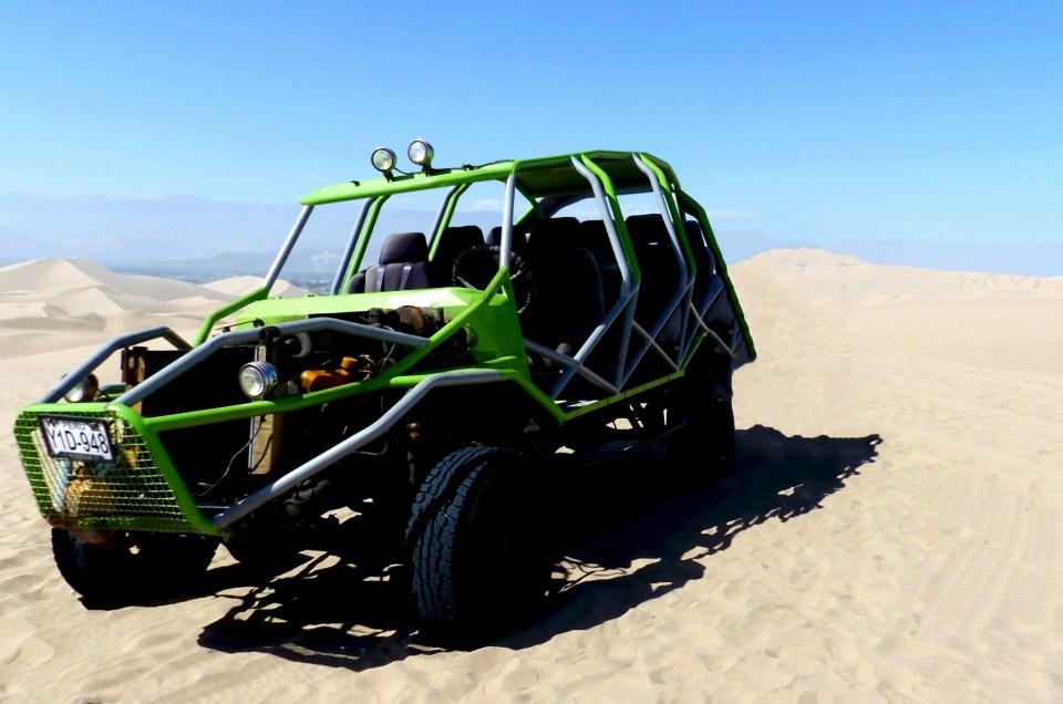Virée buggy dans les dunes d'Huacachina