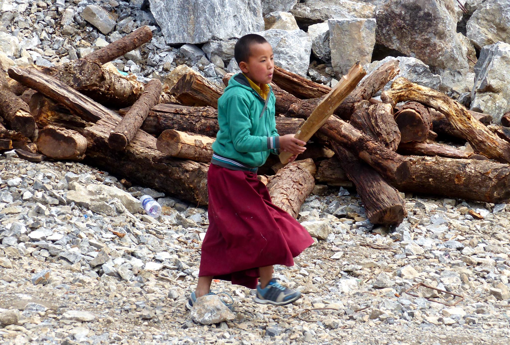 Enfant moine