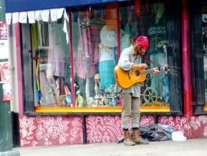 Musicien de rue san francisco