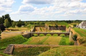 Rocroy vue sur les fortifications