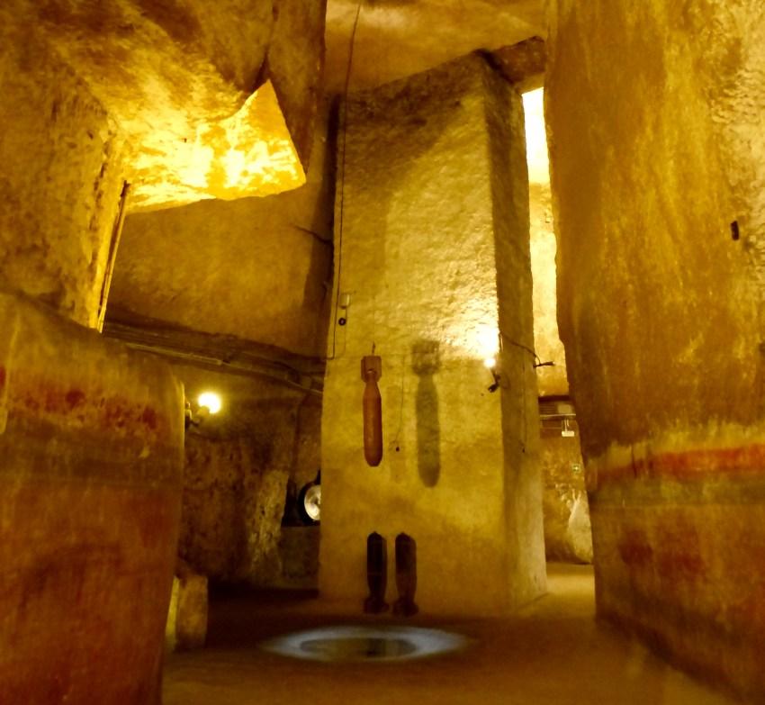 Salle souterraine Naples