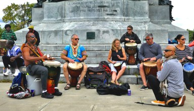 percussionnistes mont royal