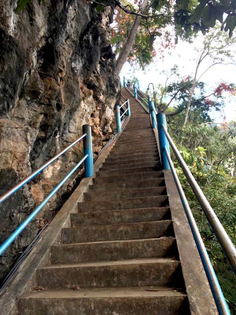 marches du temple de la caverne du Tigre