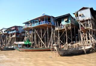 Kampong Phluk Cambodge