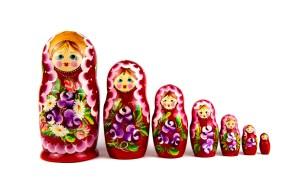 Moscou poupées russes