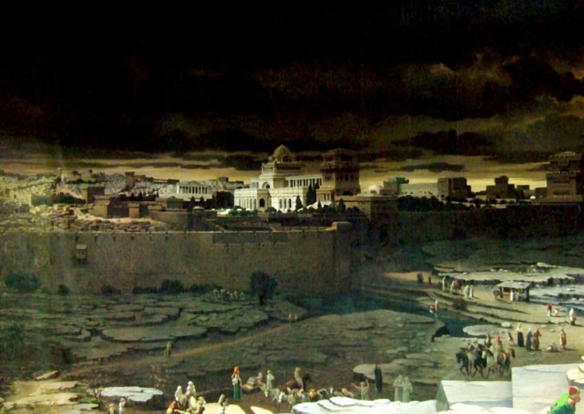 Cyclorama de Jérusalem - la ville