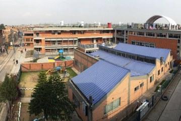 Reconstruído totalmente el colegio Jackeline Kennedy