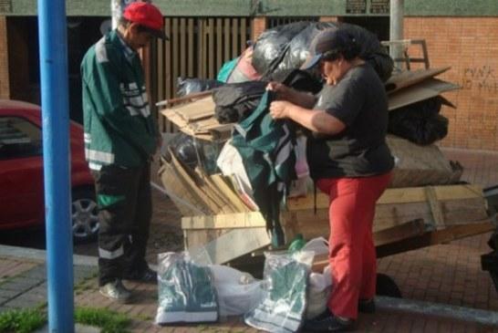 13.000 recicladores han sido integrados al esquema de aseo de Bogotá