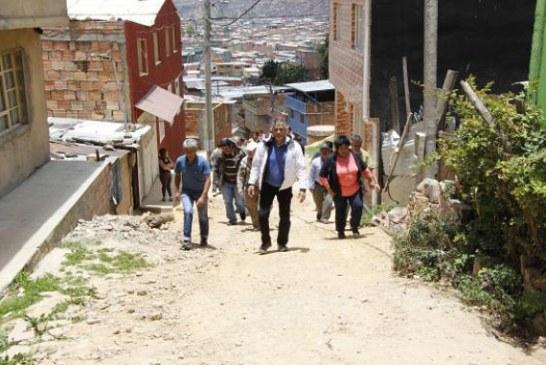 Alcalde Local de Ciudad Bolívar despacha desde los barrios del territorio