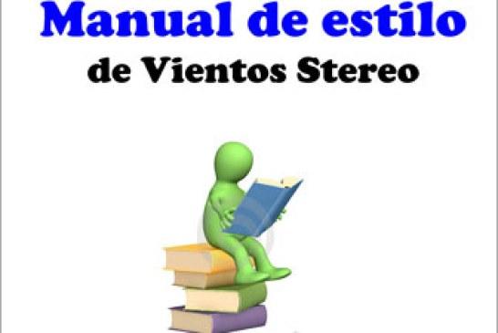Conozca el manual de estilo de Vientos Stereo
