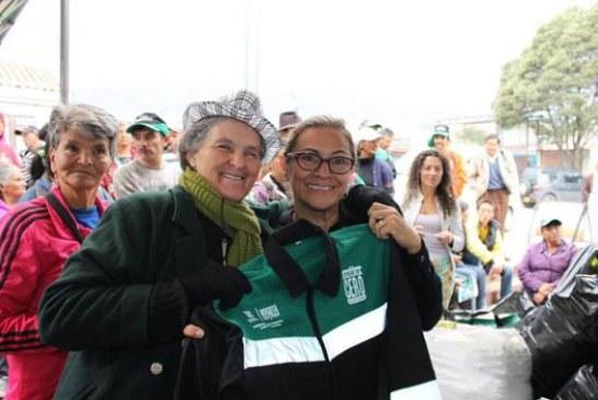 Población recicladora de San Cristóbal se beneficia con dotación de la administración local