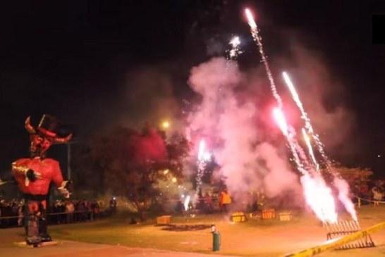 """Participe de la """"Quema del Diablo"""" este domingo 10 de enero, en el barrio El Tejar"""
