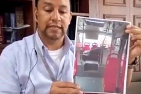Conductor de Transmilenio denuncia las duras condiciones laborales del sistema