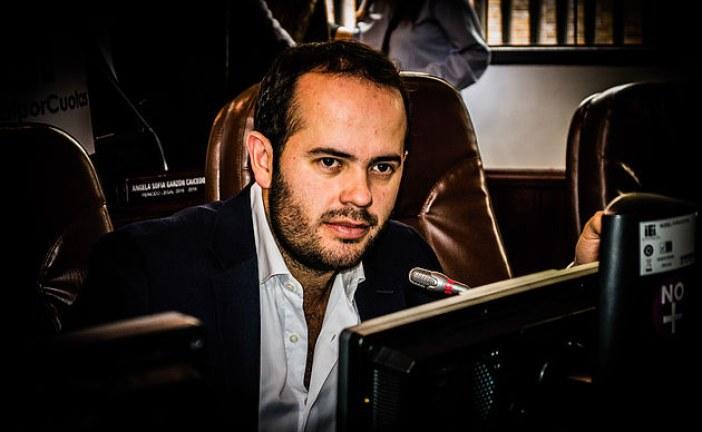 El concejal José David Castellanos denuncia «mafias del espacio público» en Bogotá