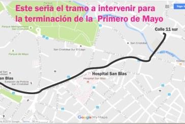 Cómo será la ampliación de la avenida Primero de Mayo