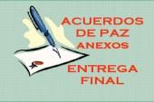 Acuerdos de Paz –  Protocolos y Anexos- Entrega final
