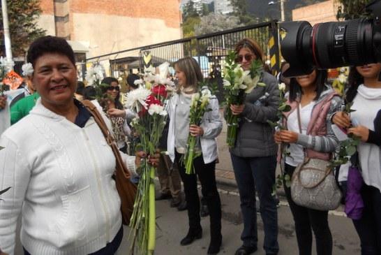 Marcha de las Flores Calle 26. Entrada indigenas