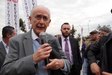 Argumentos del ex magistrado Oscar Dueña,  para la revocatoria de Peñalosa