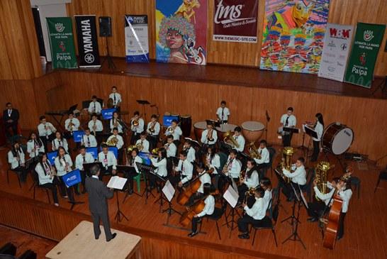 Ya viene el concurso nacional de bandas de Paipa