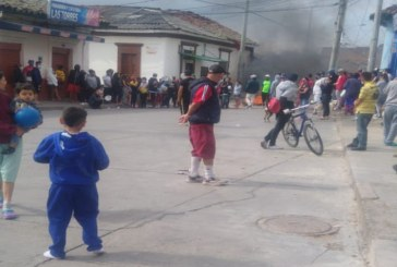 Cacerolazos e incidentes con la policía caracterizan el descontento por falta de comida