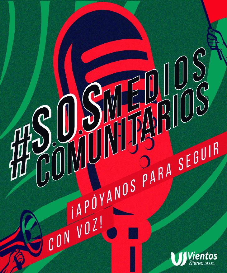 Campaña SOS Medios Comunitarios 2020