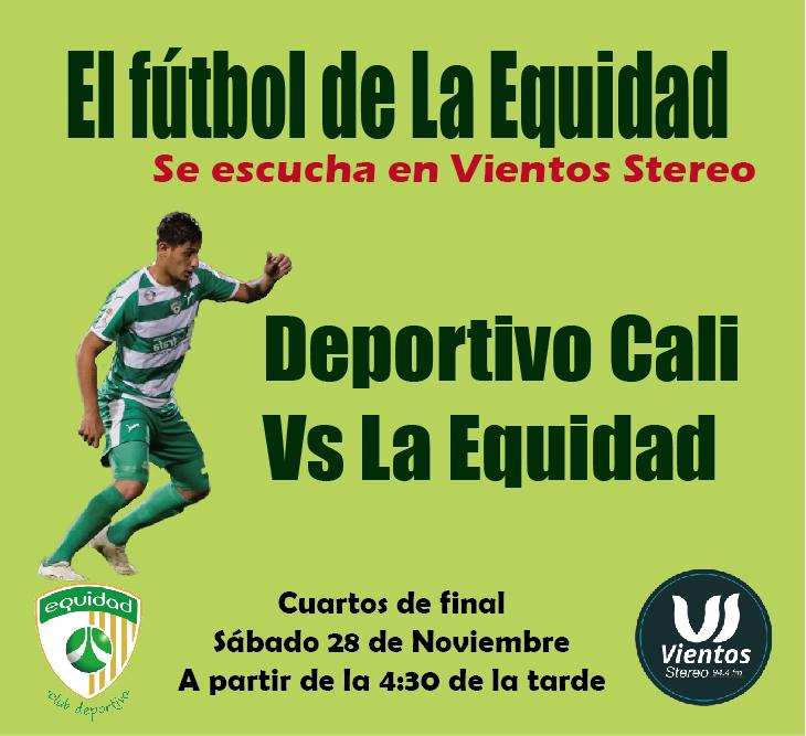 Deportivo Cali – Equidad