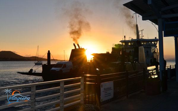 Vieques a Fajardo cargo / ferry de pasajeros