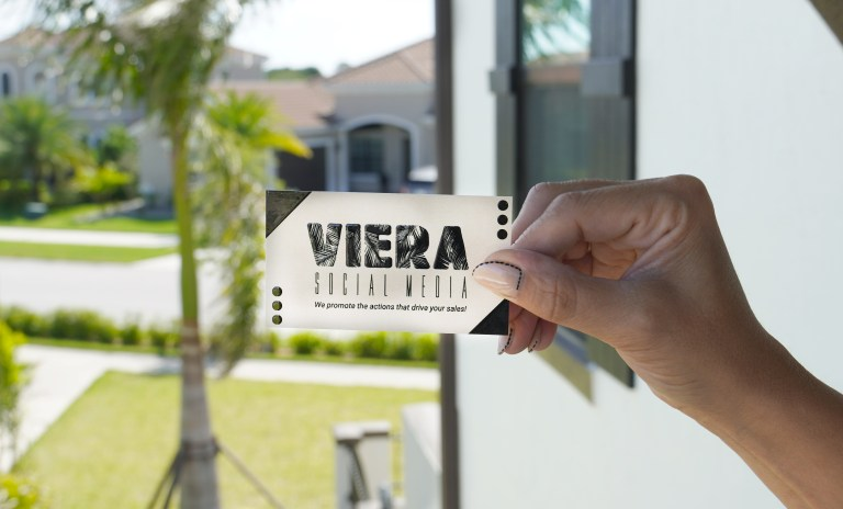 Picture of Viera Social Media Business Cards