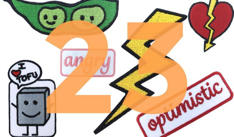Adventskalender – Tag 23: Ein buntes Patches-Paket von fremdformat