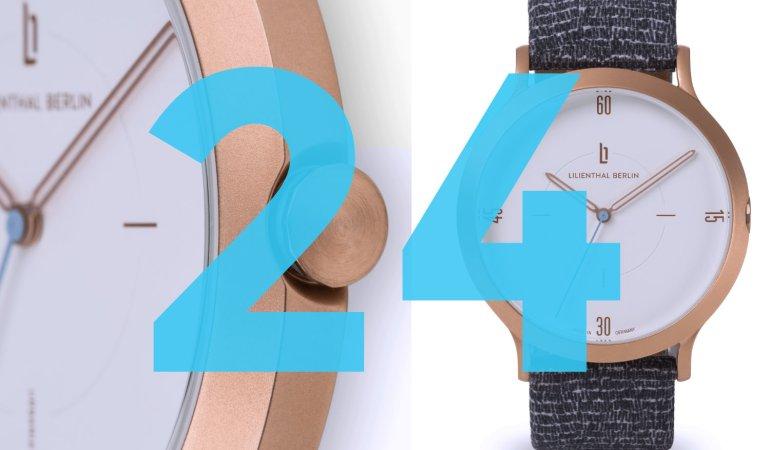 Adventskalender – Tag 24: eine Urbania-Uhr von Lilienthal Berlin