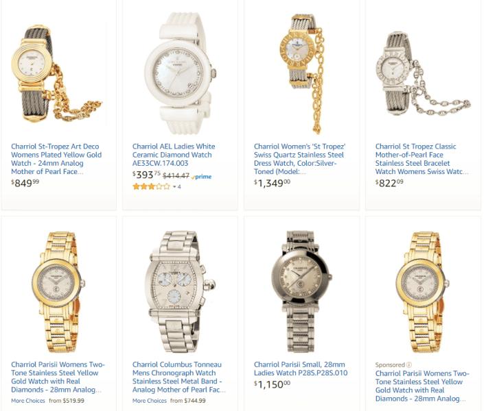 Lịch sử thương hiệu đồng hồ Charriol.