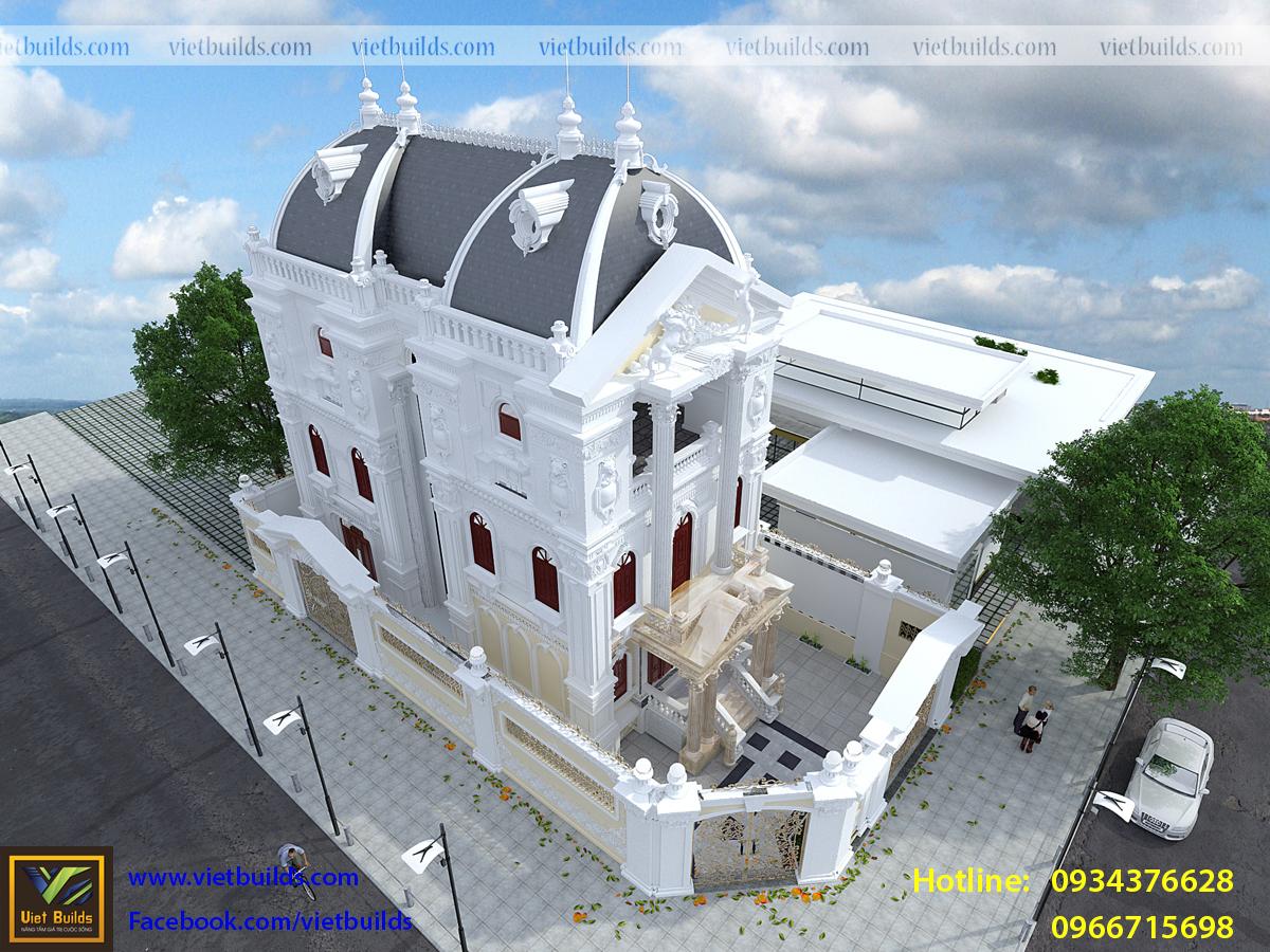 bản thiết kế lâu đài