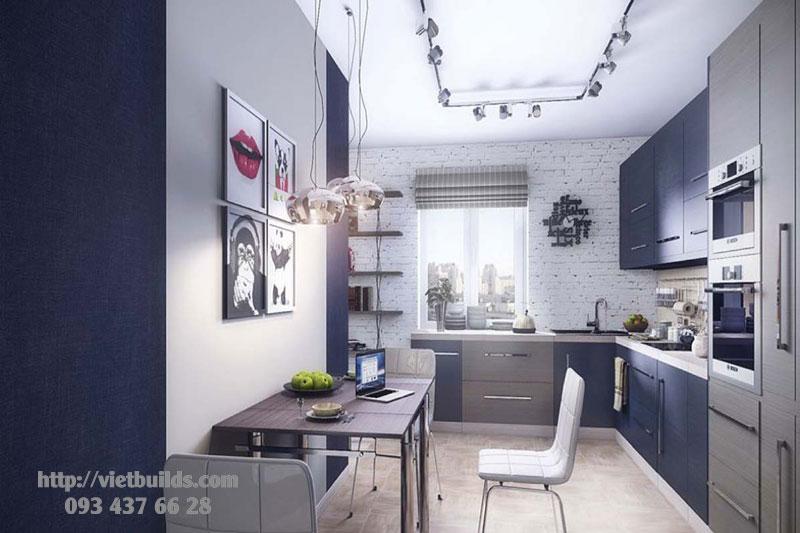 thiết kế nội thất căn hộ chung cư 30m2