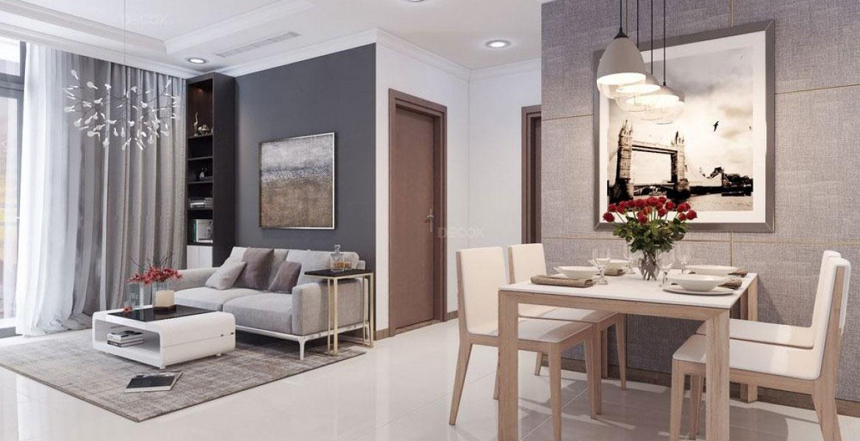 Thiết kế nội thất căn hộ chung cư 65m2