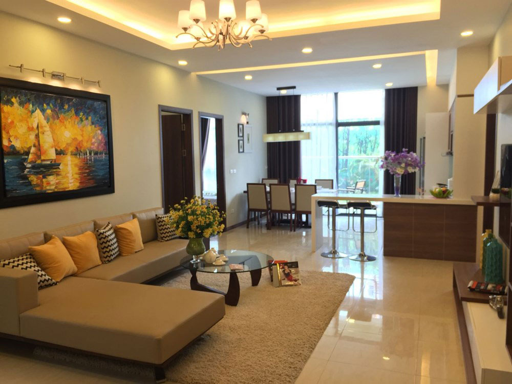 thiết kế nội thất chung cư green star