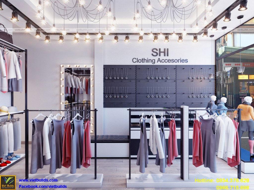 thiết kế và thi công nội thất cửa hàng