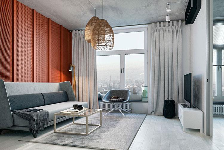 thiết kế nội thất căn hộ chung cư mini 25m2