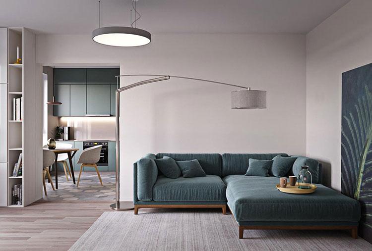 phòng khách - thiết kế nội thất chung cư Kim Văn Kim Lũ