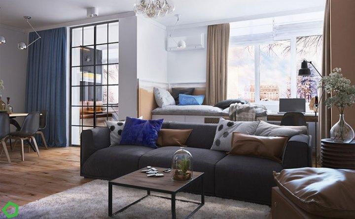 Thiết kế nội thất chung cư The Art