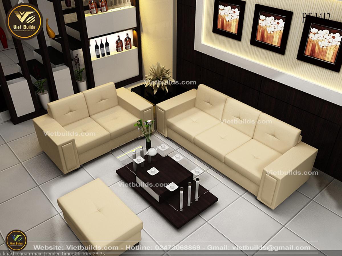 Mẫu phòng khách hiện đại cho nhà ở NT1412