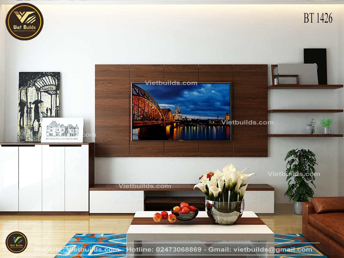 Mẫu thiết kế nội thất đẹp cho NHÀ PHỐ hiện đại NT1426