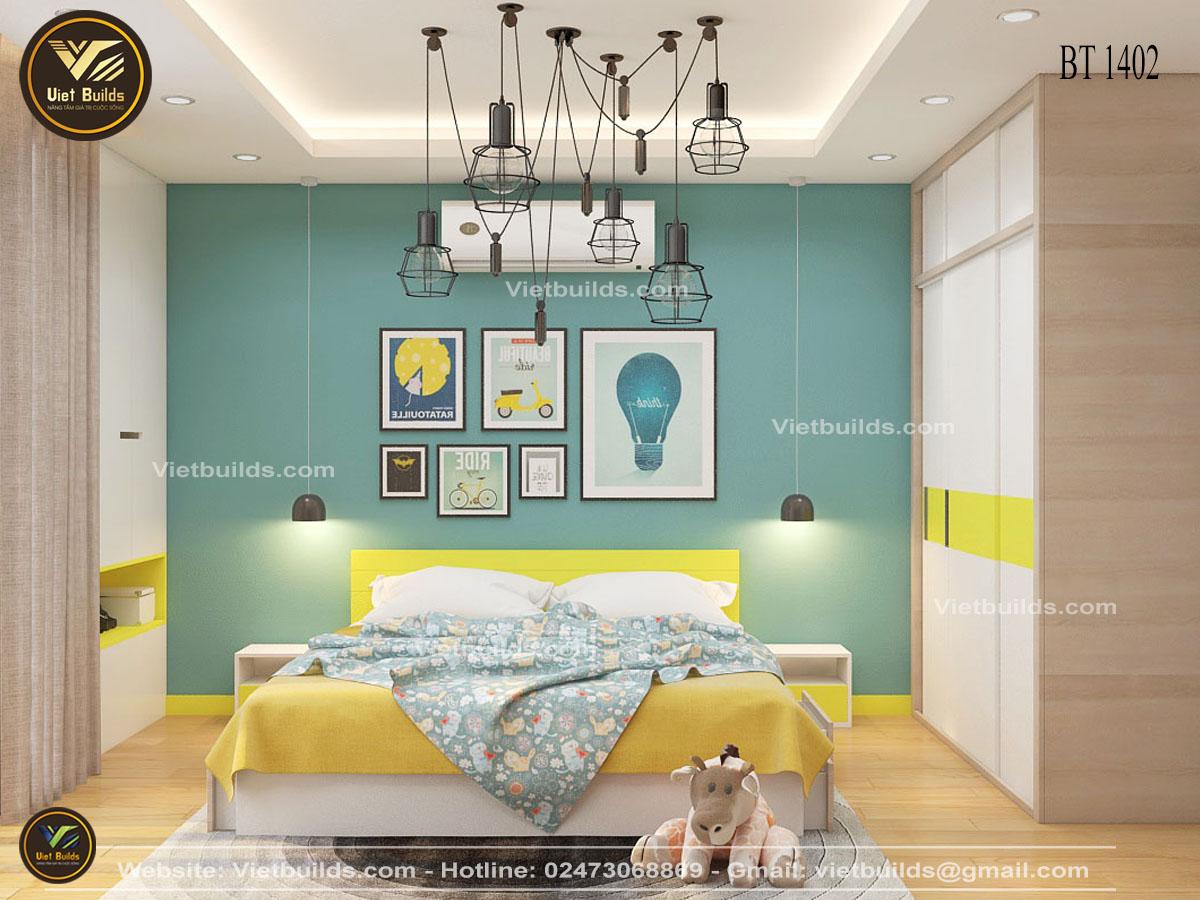Mẫu thiết kế nội thất đẹp cho nhà phố NT1402