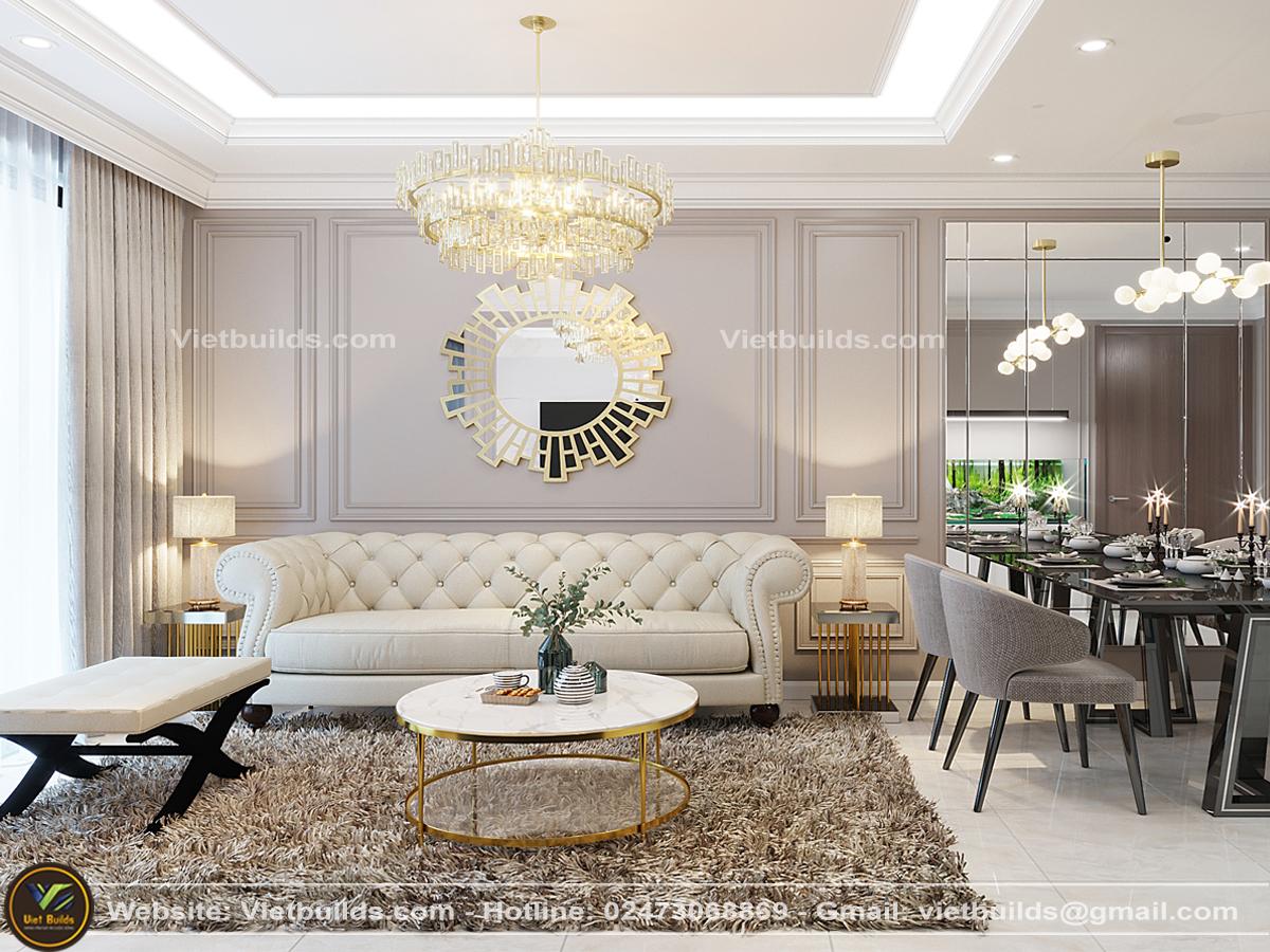 thi công nội thất chung cư giá rẻ hà nội