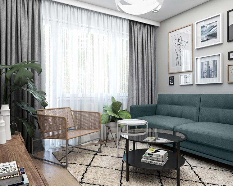 thiết kế nội thất cho chung cư 40m2