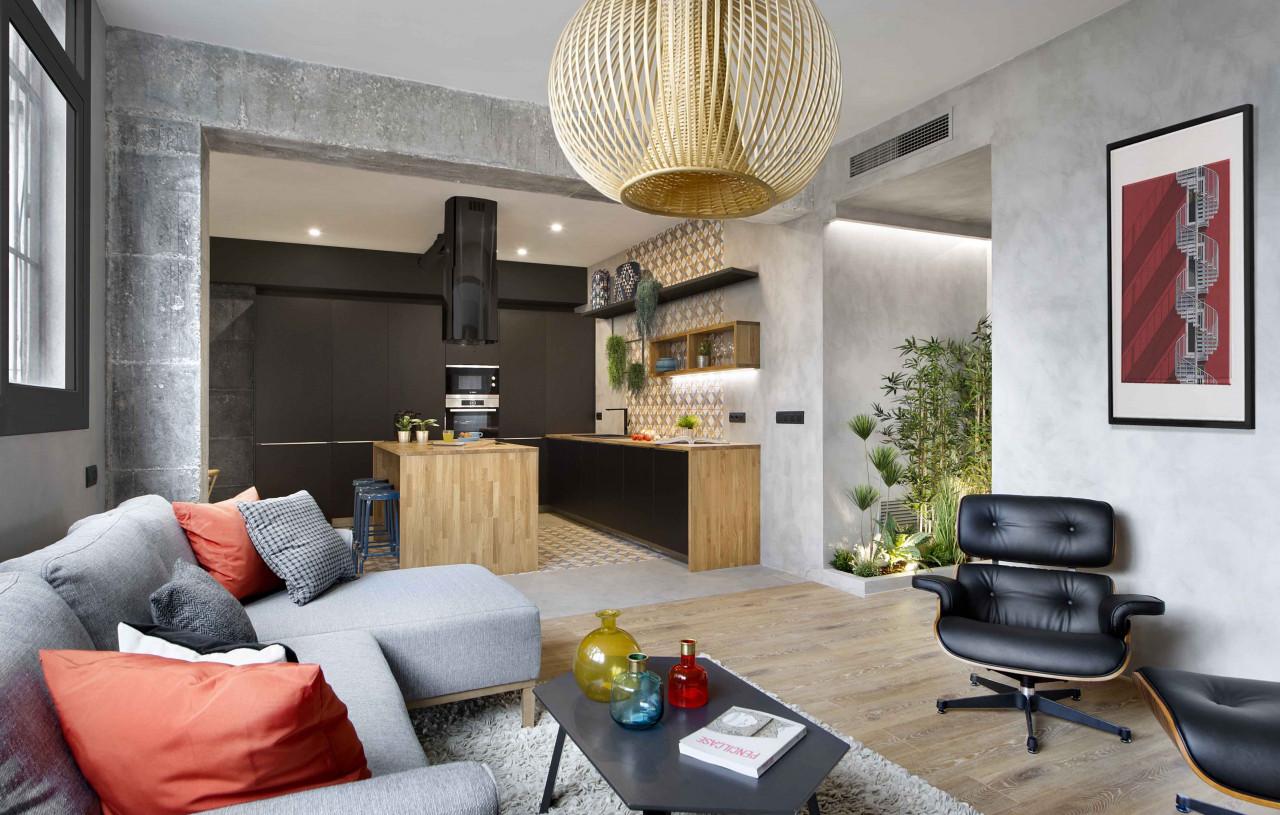 Thiết kế và thi công nội thất nhà chung cư 65m2