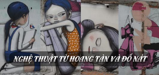 Nghệ thuật từ hoang tàn và đổ nát