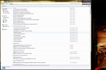 GodMode là đường tắt để truy cập tất cả các chế độ thiết lập trên Windows 7.