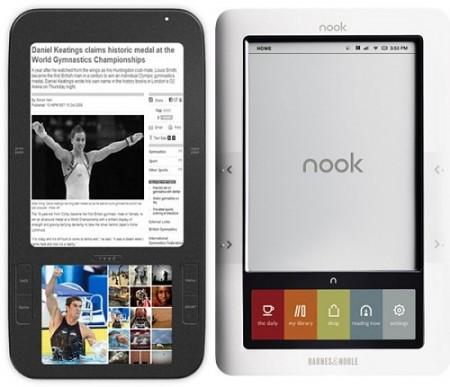 Nook đang cạnh tranh với Kindle