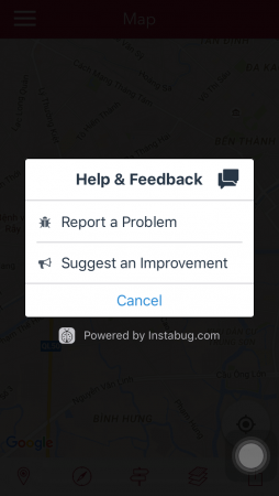Report-Feedback-In-App