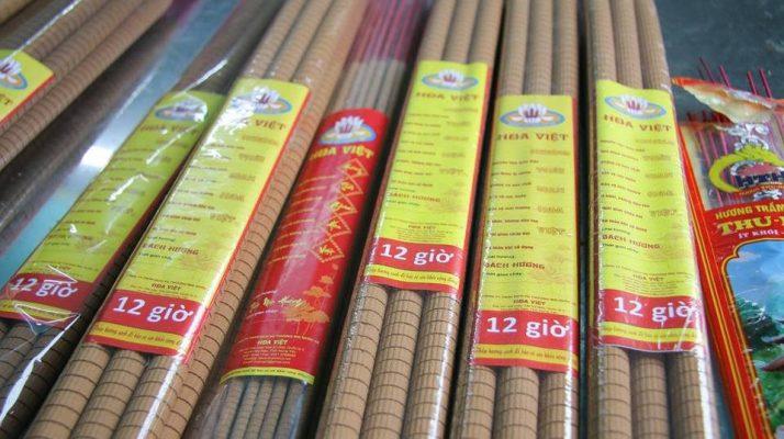 Hương sào (nhang cây) cháy thời gian dài - Ít khói - Không hóa chất - Việt Hương Trầm